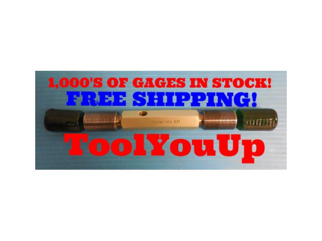 """1"""" 16 UNF  2A  SET THREAD PLUG GAGE 1.0 GO NO GO P.D. .9579 & .9529 QUALITY TOOL"""