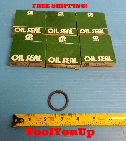 6 PCS NEW IN BOX CHICAGO RAWHIDE CR 11050 OIL SEAL SKF CR SERVICES