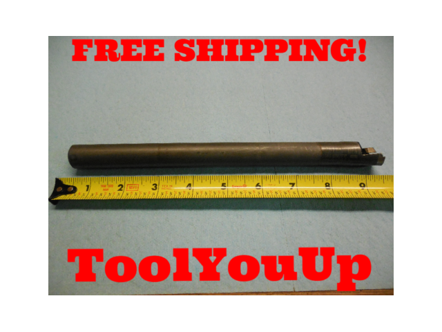 "VALENITE 3/4"" CARBIDE BORING BAR VNCD 7471 USA MADE 9 3/8"" LONG MACHINIST"