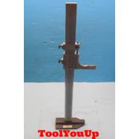 LS STARRETT NO. C454  HEIGHT STAND FOR MACHINE SHOP TOOLING MACHINIST TOOLS