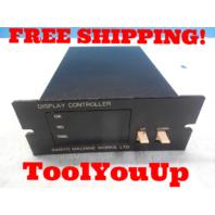 SANYO MACHINE WORKS STNM - DC DISPLAY UNIT CONTROLLER 9608002 QN617 10 07521002