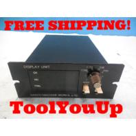 SANYO MACHINE WORKS STNM - DU DISPLAY UNIT  9608002 QN618 10 07124004