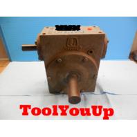 HUB CITY GEAR REDUCER 0220 - 63720 - 381 RATIO 20:1 MODEL 381 STYLE F8807 TOOLS