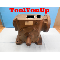 MORSE 325Q 56L60 WORM GEAR REDUCER 60:1 RATIO PTGRR TYPE DOOR OPENER