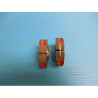 """1"""" .1P .3L TS 2A THREAD RING GAGES 1.0 GO NO GO .9725 & .9686 INSPECTION TOOLING"""