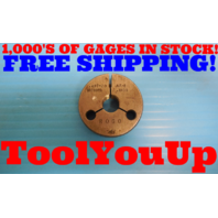.497 20 NF 2 THREAD RING GAGE .4970 NO GO ONLY P.D. = .4609 INSPECTION TOOLING