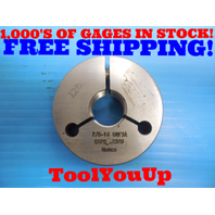 7/8 18 UNF 3A THREAD RING GAGE .875 GO ONLY P.D. = .8389 INSPECTION TOOLING TOOL