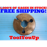 3/4 18 UN THREAD RING GAGE .75 GO ONLY P.D. = .7139 INSPECTION TOOLING TOOLS