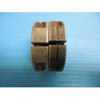 7/8 14 UN 2A BEFORE PLATE THREAD RING GAGES .87500 GO NO GO P.D. = .8260 & .8206