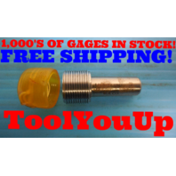11/16 24 UNEF 2B THREAD PLUG GAGE .6875 GO ONLY P.D. = .6656 INSPECTION TOOLING