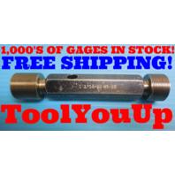 1 1/16 20 NS 2B THREAD PLUG GAGE 1.0625 GO NO GO P.D.'S = 1.0300 & 1.0359 TOOLS