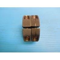 1 1/16 14 UNS 2A THREAD RING GAGES 1.0625 GO NO GO P.D. = 1.0145 & 1.0092 TOOLS