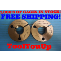 1 1/16 14 UNS - 2A SPECIAL P.D'S 1.0135 1.0082 THREAD RING GAGES 1.0625 GO NO GO