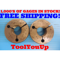 1 1/16 14 UNS 2A SPECIAL THREAD RING GAGES 1.0625 GO NO GO P.D ARE 1.0135 1.0082