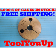 17/32 24 NS THREAD RING GAGE .53125 NO GO ONLY P.D. = .4991 INSPECTION TOOLING