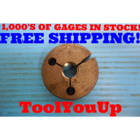 5/8 18 UNF 2A SPECIAL THREAD RING GAGE .625 GO ONLY P.D. = .5865 INSPECTION TOOL