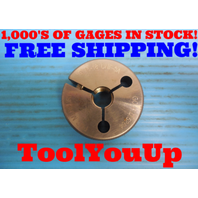 9/16 18 UNF 3A THREAD RING GAGE .5625 GO ONLY P.D. = .5264 INSPECTION TOOLING