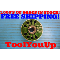 7/16 20 NF 2&3 THREAD RING GAGE .4375 GO ONLY P.D. = .4050 INSPECTION TOOLING
