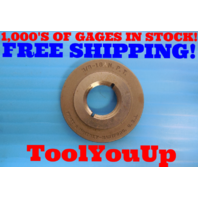 3/8 18 NPT L1 PIPE THREAD RING GAGE .375 ANPT ALTERNATIVE INSPECTION TOOLING