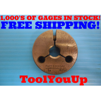 5/8 18 NF THREAD RING GAGE .625 GO ONLY P.D. = .5889 INSPECTION MACHINIST TOOLS