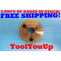 5/8 18 UNF 2A THREAD RING GAGE .625 NO GO ONLY P.D. = .5828