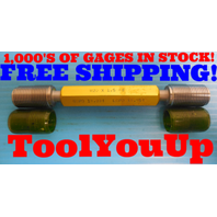 M20 X 1.5 6g METRIC SET THREAD PLUG GAGE 20.0 1.50 GO NO GO P.D.'S 18.994 18.854