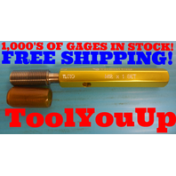 M12 X 1.0 METRIC SET THREAD PLUG GAGE 12.0 1 GO ONLY P.D. = 11.510 INSPECTION