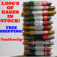 22PC SMOOTH PIN PLUG GAGE LOT .6875 .750 UNDER AND OVER SIZE GO NO GO MANY SIZES