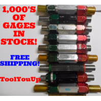 18 PC SMOOTH PIN PLUG GAGE LOT .8125 .9375 UNDER AND OVER SIZE GO NO GO 18 SIZES