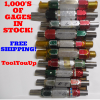 20 PC SMOOTH PIN PLUG GAGE LOT .6875 .8125 UNDER AND OVER SIZE GO NO GO 18 SIZES