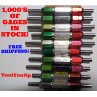20 PC SMOOTH PIN PLUG GAGE LOT .375 UNDER AND OVER SIZE GO NO GO MANY SIZES
