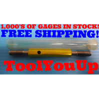 M11 X 1.5 6g METRIC SET THREAD PLUG GAGE 11.0 1.50 GO NO GO PD'S = 10.0254 9.939