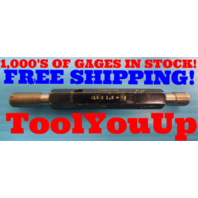 M10 X 1.0 6H METRIC PREPLATE THREAD PLUG GAGE 10.0 GO NO GO P.D.'S = 9.423 9.499