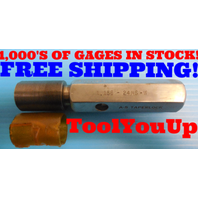 1.156 24 NS W SET THREAD PLUG GAGE 1.1560 GO ONLY P.D. = 1.1289 INSPECTION TOOLS