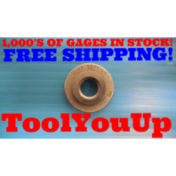 1/4 18 NPTF L2 PIPE THREAD RING GAGE L-2 N.P.T.F. .250 QUALITY INSPECTION TOOLS