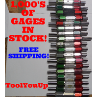 36 PC SMOOTH PIN PLUG GAGE LOT .5 OVER AND UNDER SIZE GO NO GO MANY SIZES TOOLS