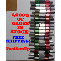 36 PC SMOOTH PIN PLUG GAGE LOT .50 OVER AND UNDER SIZE GO NO GO MANY SIZES TOOLS