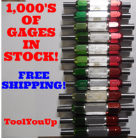 24 PC SMOOTH PIN PLUG GAGE LOT .625 .6875 UNDER AND OVER SIZE GO NO GO 20 SIZES