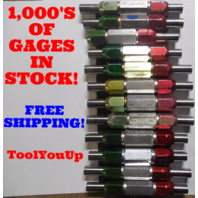 24 PC SMOOTH PIN PLUG GAGE LOT .6250 .6875 UNDER AND OVER SIZE GO NO GO 20 SIZES