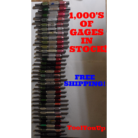 62 PC SMOOTH PIN PLUG GAGE LOT .1875 .75 OVER AND UNDER SIZE GO NO GO 35 SIZES