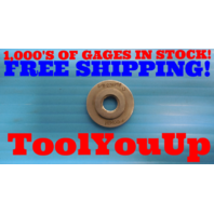 1/8 27 NPTF L1 PIPE THREAD RING GAGE L-1 .125 N.P.T.F. INSPECTION MACHINIST TOOL
