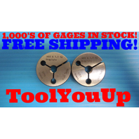 M10 X 1.0 PREPLATE METRIC THREAD RING GAGES 10.0 1 GO NO GO P.D.'S = .3651 .3617