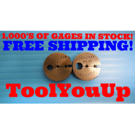 .098 .019 THREAD RING GAGES .0980 GO NO GO P.D.'S = .085 & .083 INSPECTION TOOLS