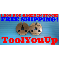 5/16 24 NF THREAD RING GAGES .3125 GO NO GO PD'S = .2854 & .2822 INSPECTION TOOL