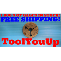 5/16 24 NF SPECIAL THREAD RING GAGE .3125 GO ONLY P.D. = .2839 INSPECTION TOOLS