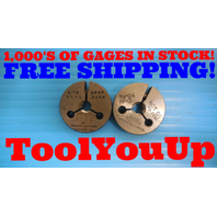 5/16 - 24 NF 3 THREAD RING GAGES .3125 GO NO GO PD'S = .2844 & .2830 INSPECTION