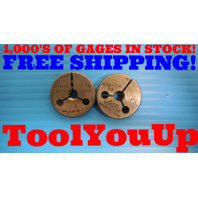 5/16 24 NF THREAD RING GAGES .3125 GO NO GO PD'S = .2854 & .2850 INSPECTION TOOL