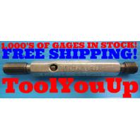 7/16 - 24 UN 2B THREAD PLUG GAGE .4375 GO NO GO P.D.'S = .4104 & .4153 TOOLING