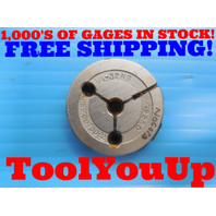 1/4 32 NS THREAD RING GAGE .250 NO GO ONLY P.D. = .2250 INSPECTION QUALITY TOOLS