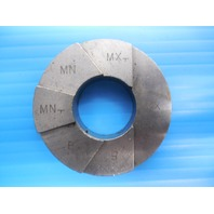 3/4 14 N.P.T.F.  6-STEP TRUNCATION PIPE THREAD RING GAGE .75 NPTF INSPECTION